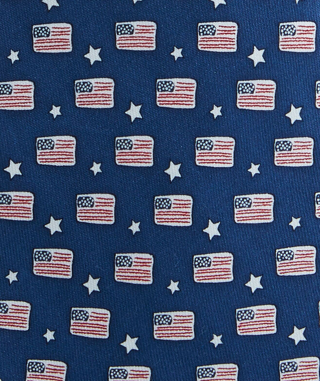 Boys Flags & Stars Tie