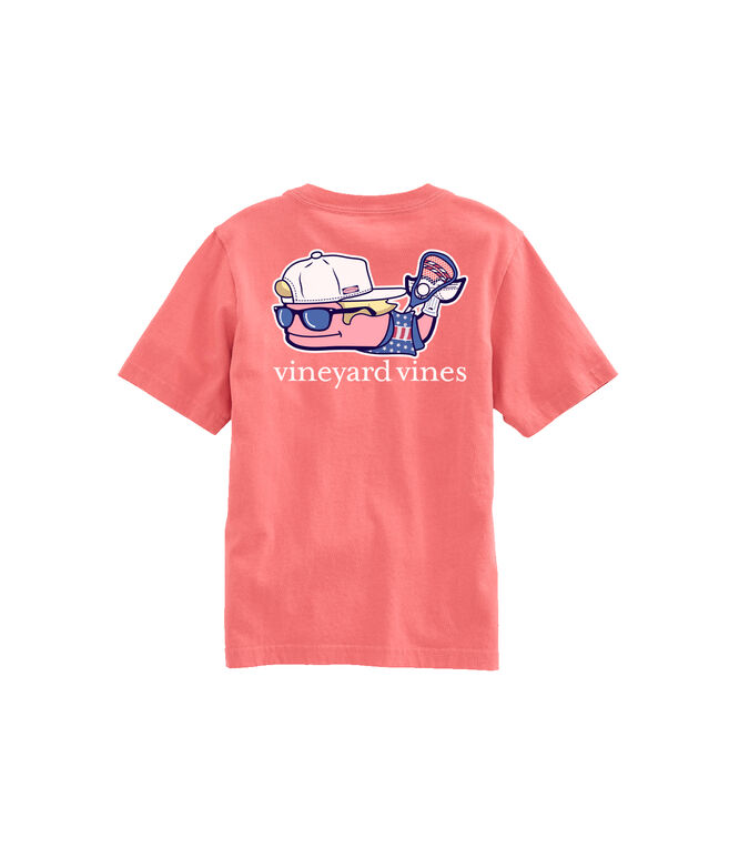 OUTLET Kids' Lax Bro Whale Short-Sleeve Pocket Tee