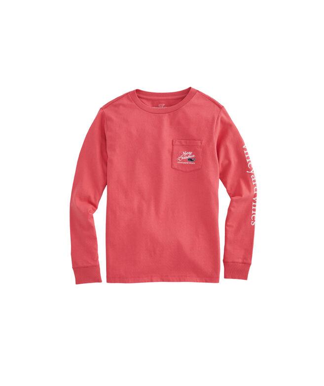 Boys Woody & Tree Long-Sleeve Pocket T-Shirt