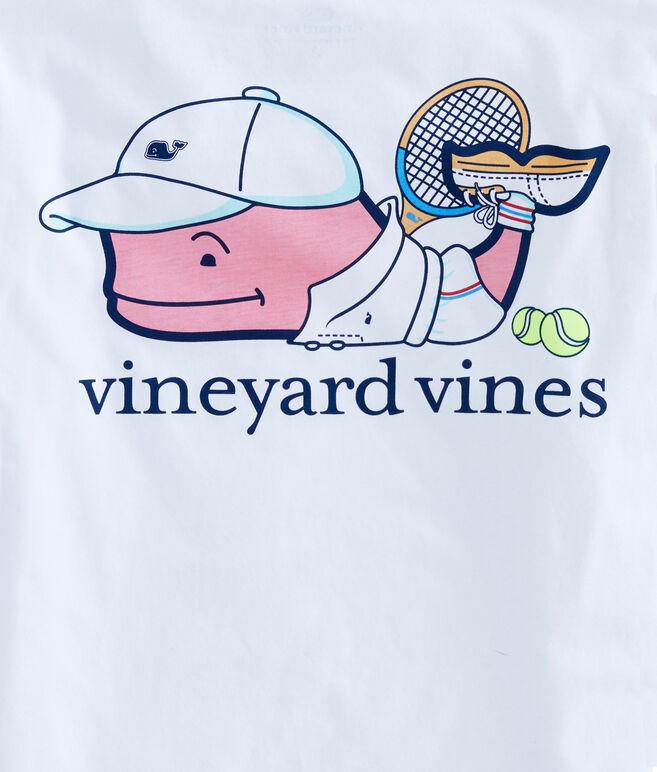 Boys Tennis Pro Whale Pocket T-Shirt