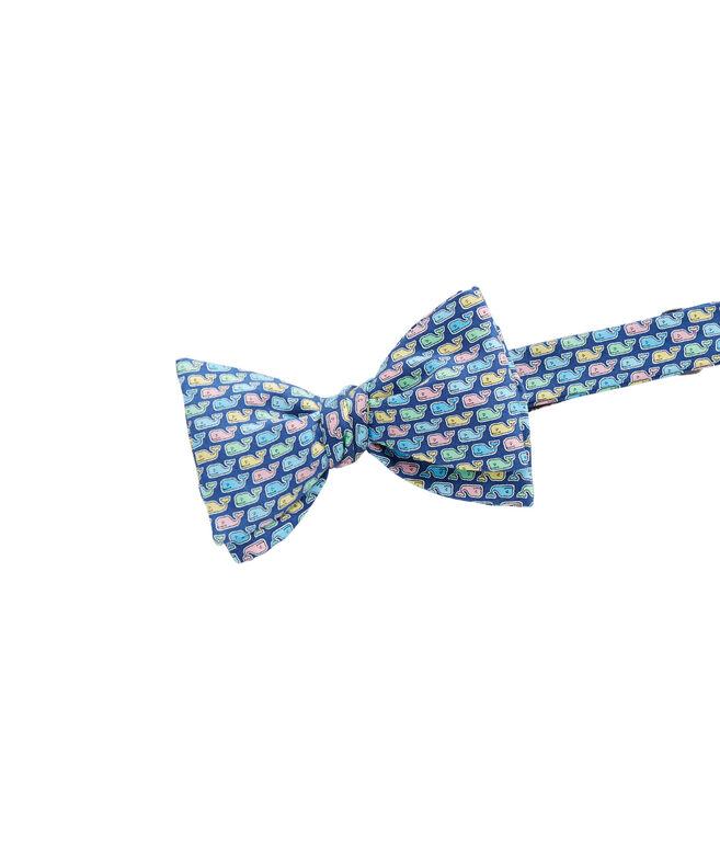 Boys Pastel Whale Bow Tie