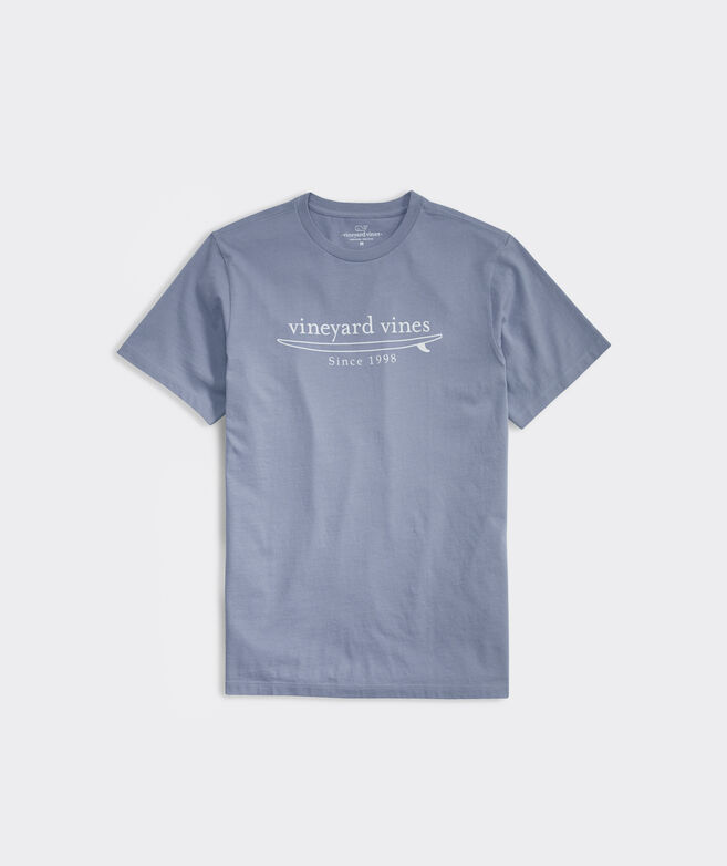 Simple Surf Logo Short-Sleeve Tee