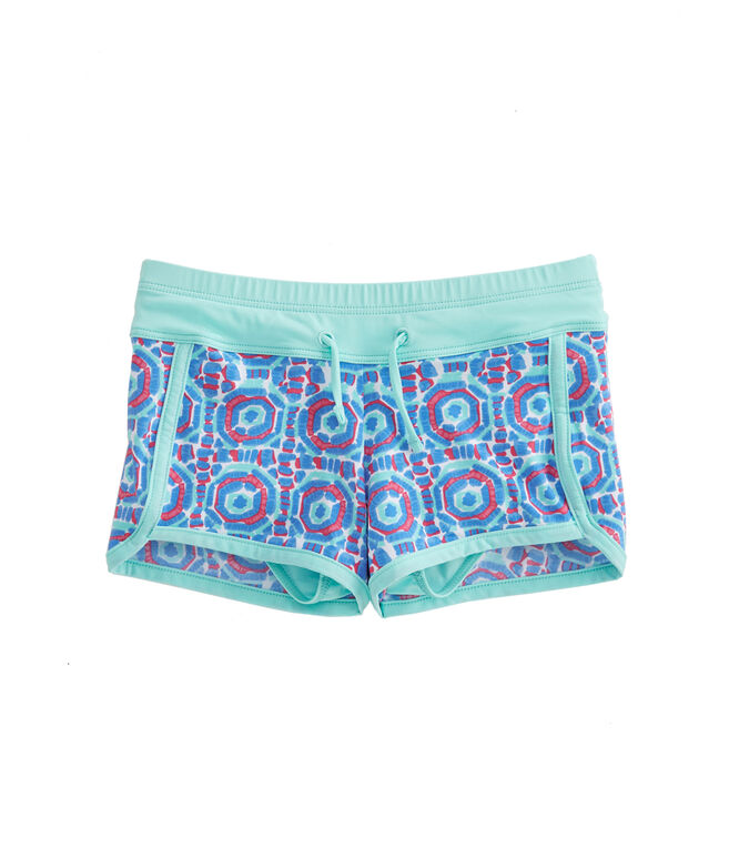 Girls Geo Umbrella Swim Shorts