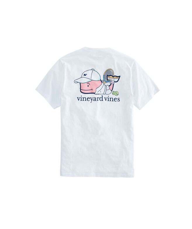 OUTLET Tennis Pro Whale Short Sleeve Pocket Tee