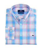 Pelican Plaid Classic Tucker Shirt
