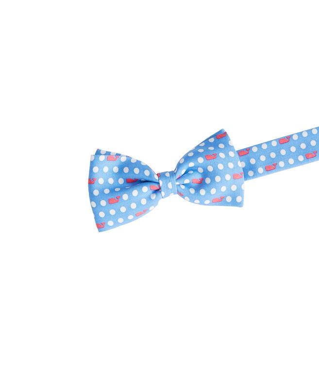 97eb4fea8161 Shop Polka Dot Whale Bow Tie at vineyard vines