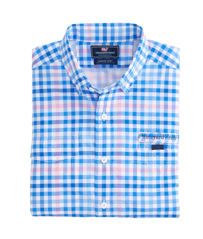 Salt Island Check Harbor Shirt