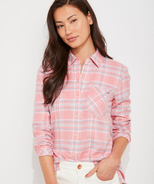 Plaid Chilmark Relaxed Button-Down
