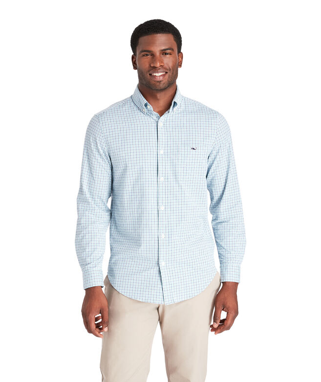 Classic Fit Auger Cotton Performance Tucker Shirt