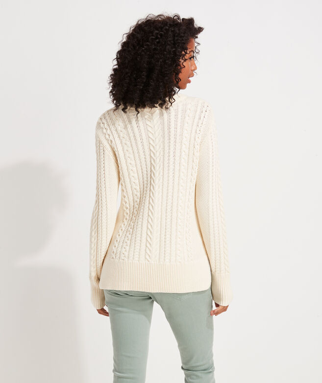 Textured Fisherman Sweater