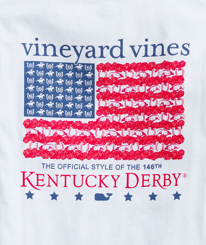 Boys' Kentucky Derby Flag Long-Sleeve Tee