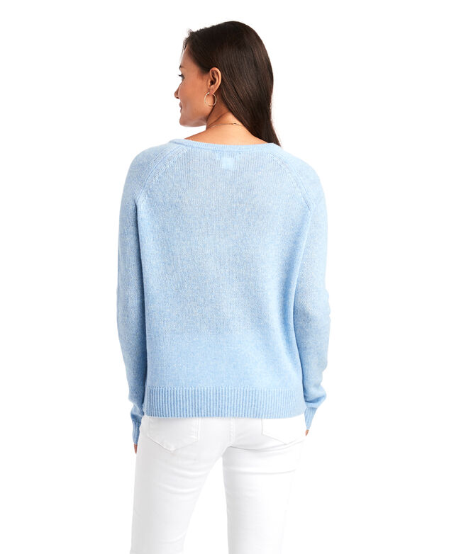 Lofty Cashmere V-Neck Sweater