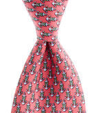 Boys Anchor Ribbon Tie