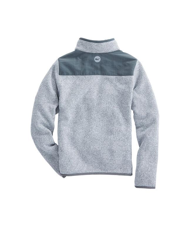Boys Sweater Fleece Shep Shirt