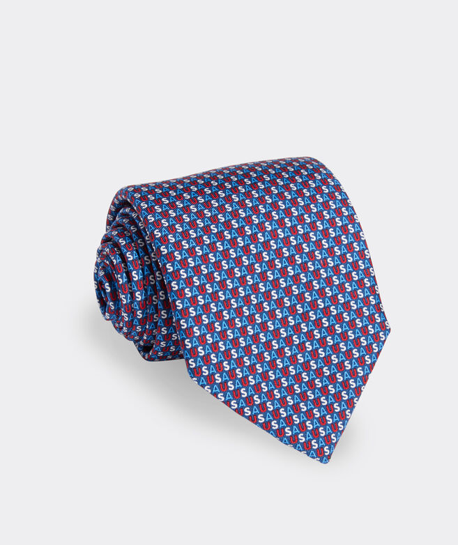USA XL Printed Tie