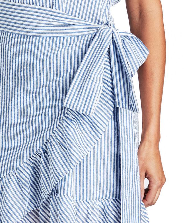 77a7901980 Shop Seersucker Wrap Dress at vineyard vines