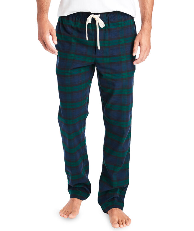 Plaid Flannel Lounge Pants