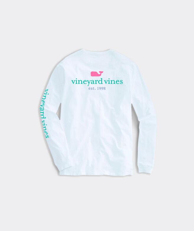 Womens vineyard vines 1998 Long-Sleeve Pocket Tee