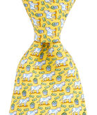Cash Cow Printed Tie