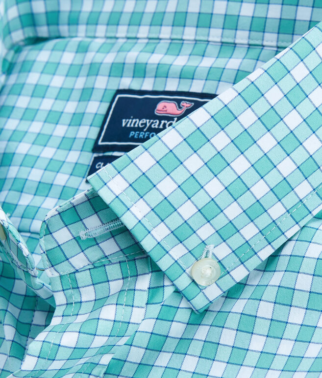 Bermuda Check Performance Classic Tucker Shirt