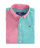 Party Gingham Whale Shirt