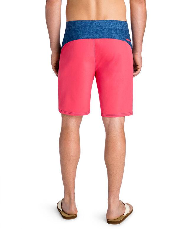 Linear Tuna Pieced Board Shorts