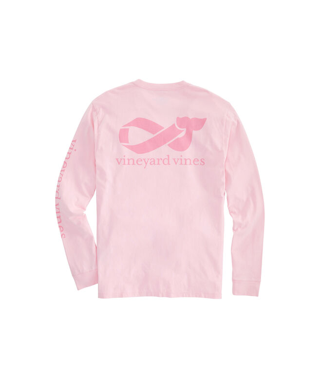Big & Tall 2019 Breast Cancer Awareness Long-Sleeve Pocket T-Shirt