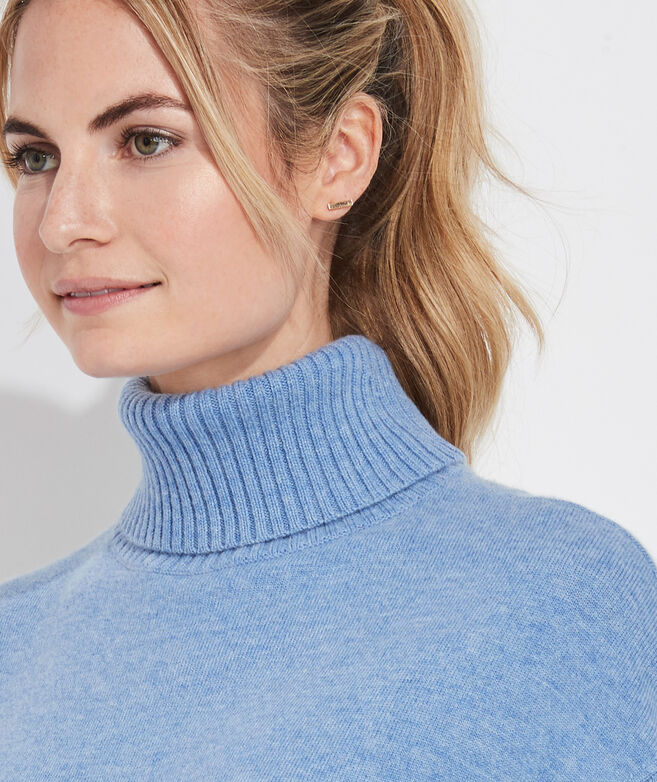 Fringe Turtleneck Sweater