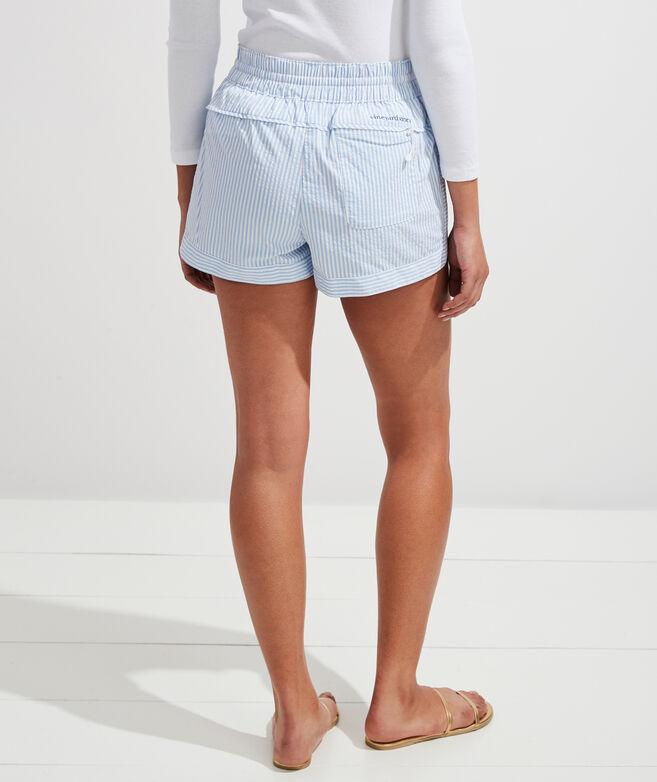 Vineyard Seersucker Harbor Shorts