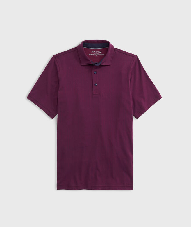 Bird Rock Geo Print Polo