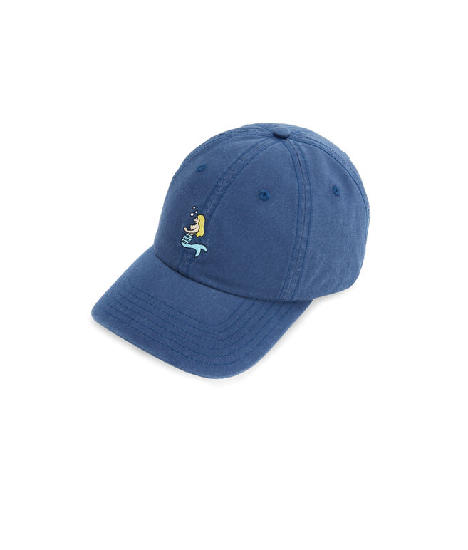 Mermaid Logo Baseball Hat