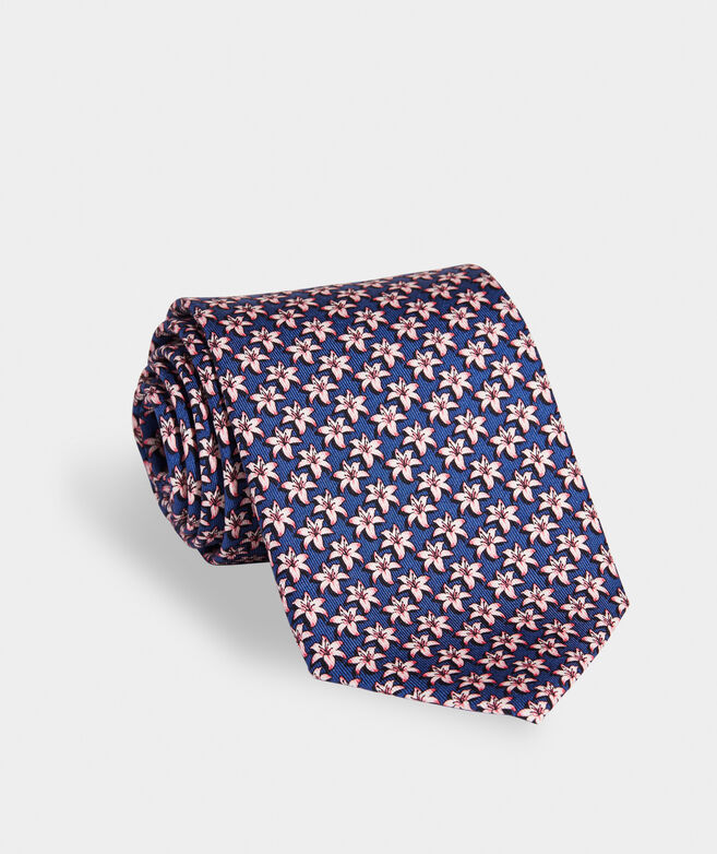 Kentucky Derby 2021 Lilies Printed Tie