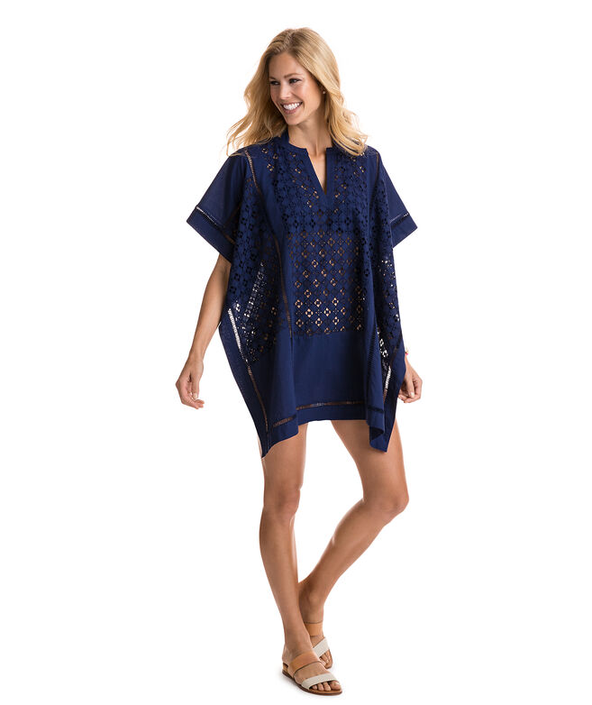 Pieced Poncho Cover-Up