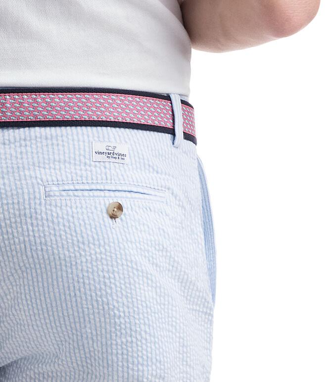 9 Inch Seersucker Stripe Breaker Shorts