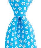 Woodblock Floral Tie