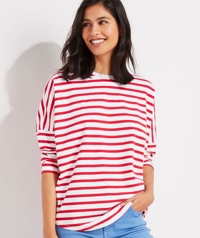 Striped Deluxe Tee