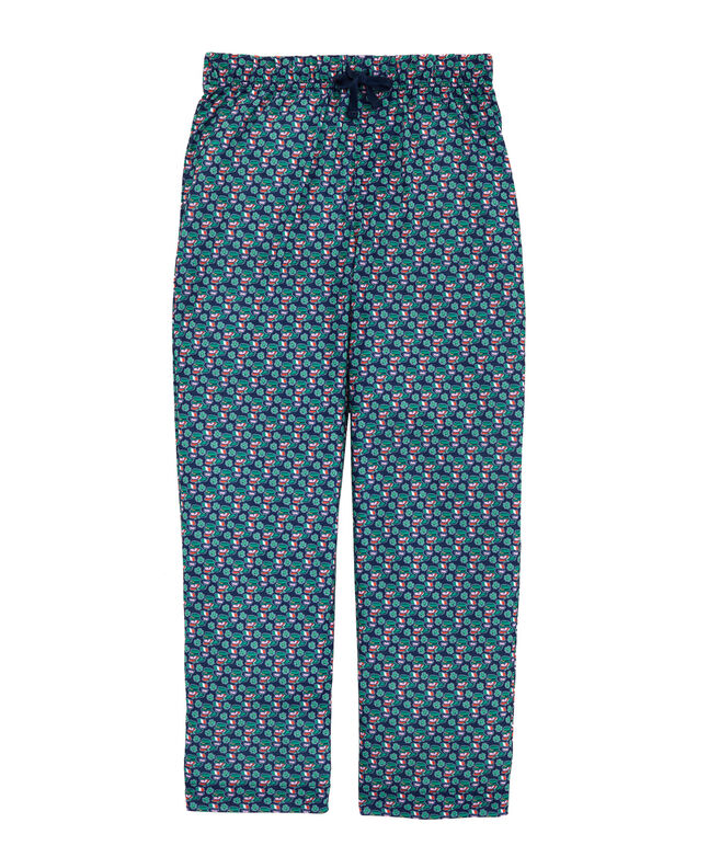 Kids Printed Pajama Pants