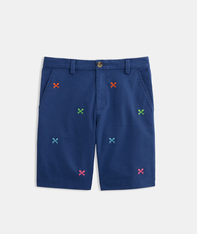 Boys' Crossed Fish Bone Breaker Short