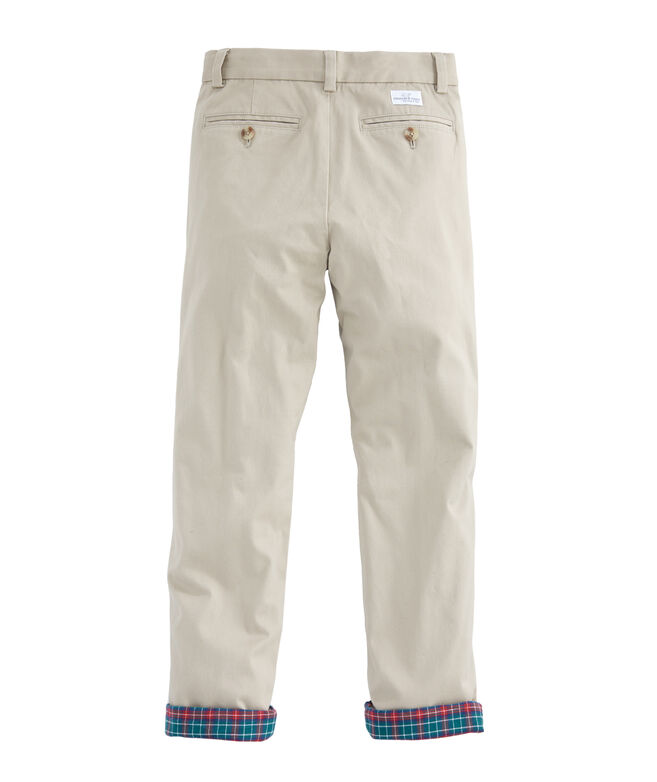 Boys Flannel Lined Breaker Pants