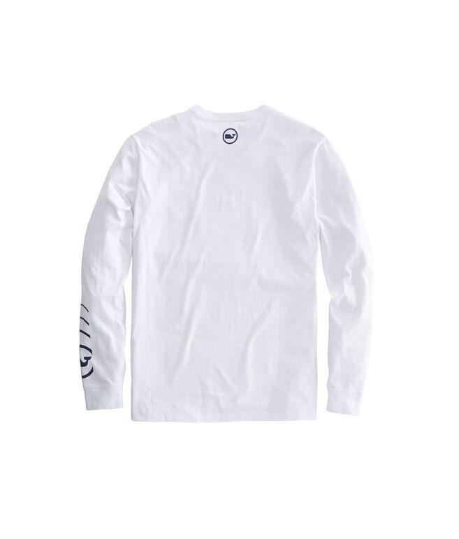 Long-Sleeve Whale Signal T-Shirt