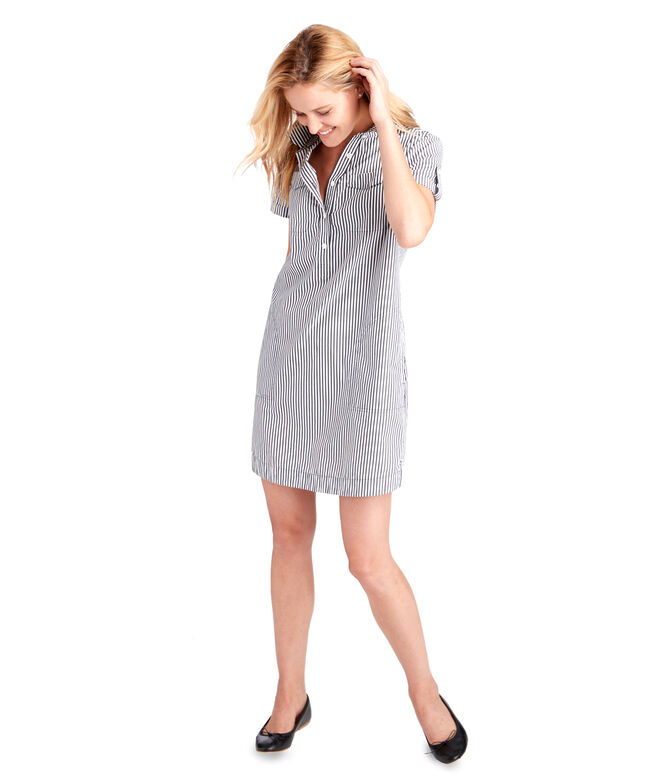 4184e53508 Striped Utility Margo Shirt Dress At Vineyard Vines. Ratings. Sites Vineyard  Vines Site. Pleated Tennis Dress