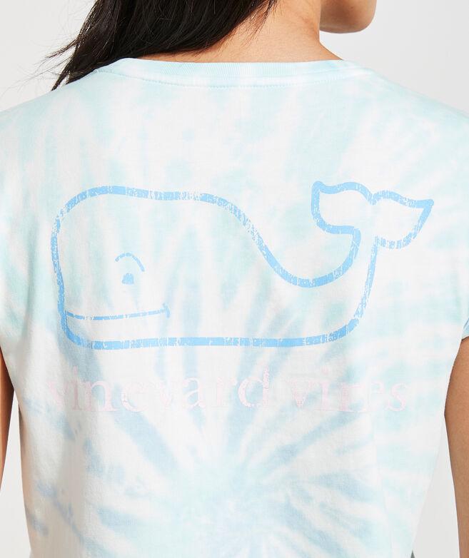 Swirl Tie-Dye Whale Tee