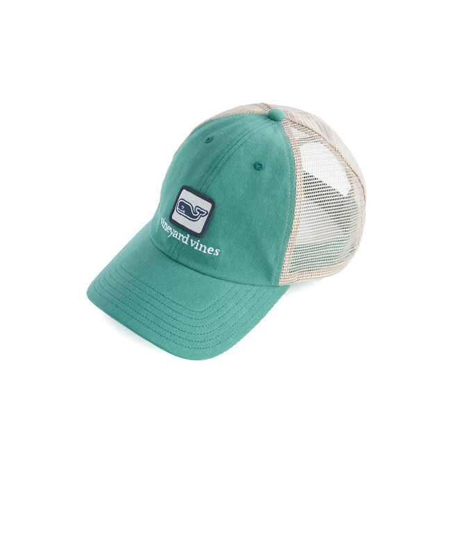 Boys Whale Patch Trucker Hat