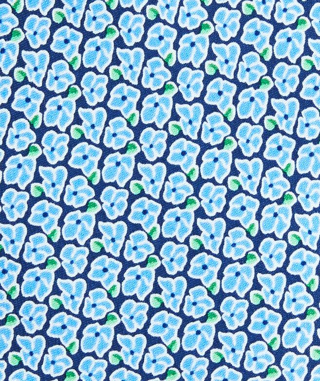 Hydrangea Printed Tie