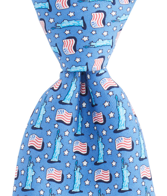USA Flags Tie