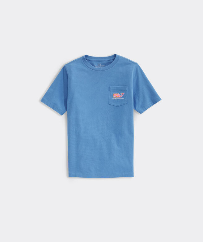 Boys' Burger Whale Short-Sleeve Pocket Tee