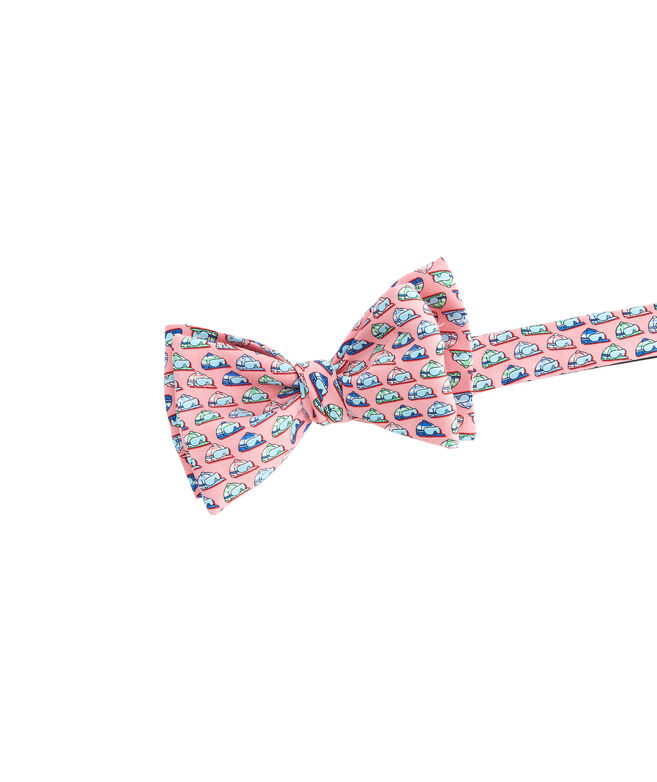 Kentucky Derby Jockey Helmets Printed Bow Tie