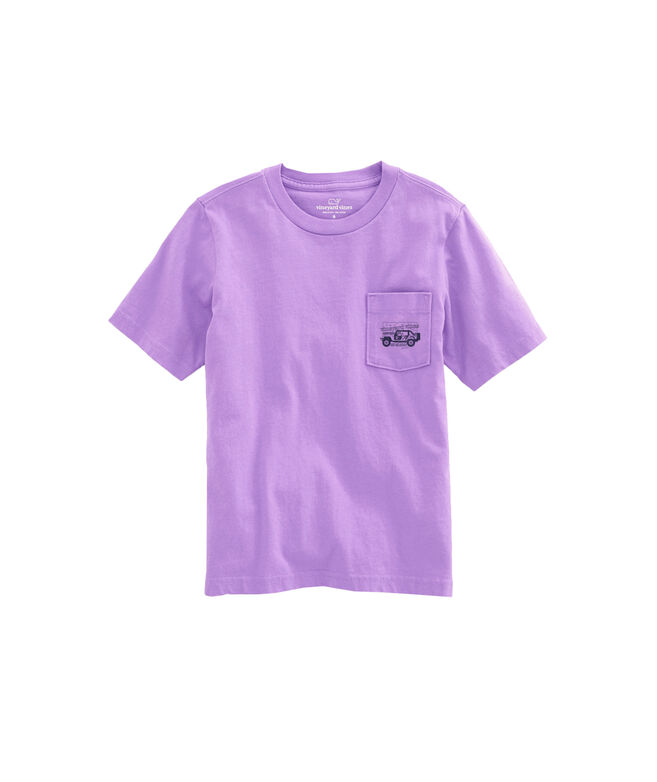 OUTLET Kids' Beach Cruiser Short-Sleeve Pocket Tee