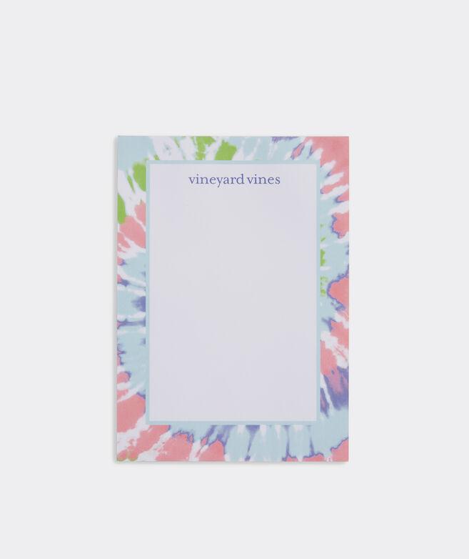 Tie Dye Swirl Notepad