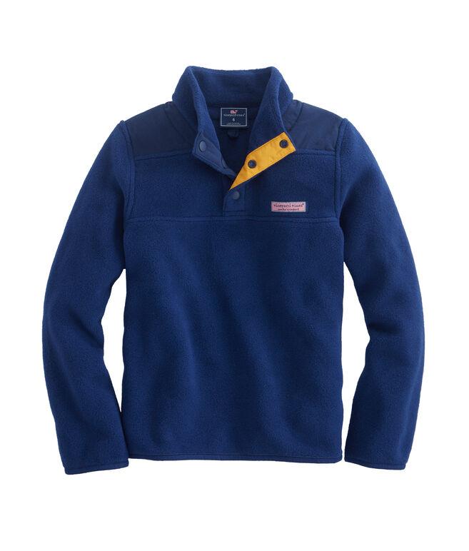 Boys Snap Fleece Shep Shirt